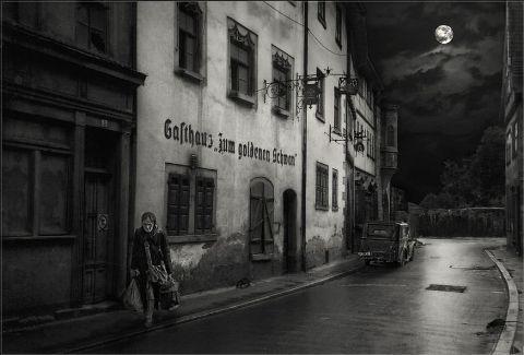 Calles lúgubres